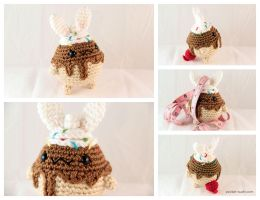 Bundae - Amigurumi Plush by pocket-sushi