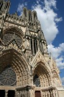 Reims Cathedral by frenchllama