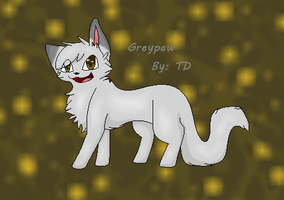 Greypaw by TransparentDragon