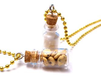 Cookies and Milk Best Friend Necklaces by right2bearcharms