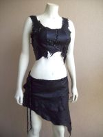 Scrapwork Bodice and Skirt by Xavietta