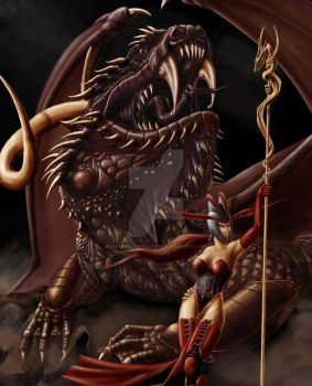 Rape of the hearth by Soys-illustrations