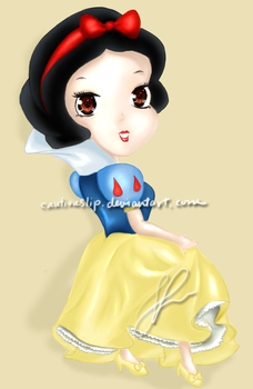 Snow White: Chibi Disney Set by cautiouslip