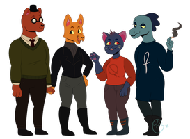 Night in the Woods by johnathan-leviathan