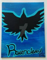 House Ravenclaw 8x12 by wolf-girl87