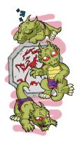 Ikkle Shendu by worm-baby