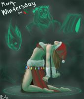 Guild Wars Wintersday Entry by Spooky-the-Boo