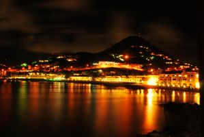 Little Bay at Night by SublimeBudd