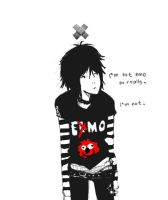 im not emo by t0fuu