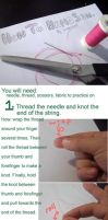Hand Sewing Tutorial by scilk
