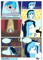 Melody B. Contest Entry - Heartful Melody Page 1 by MultiTAZker