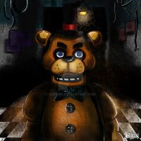 Five Nights at Freddy's by Vision-Artz