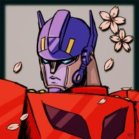 Animated Optimus Prime 3 by J-666