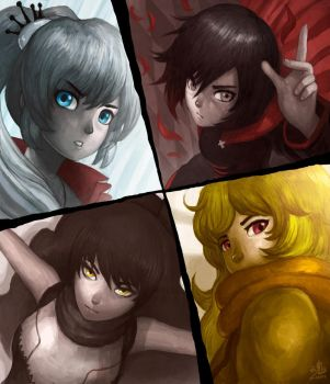 RWBY by Ry-Spirit