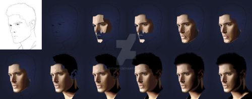 Dean Winchester - Step by Step by Sythe01