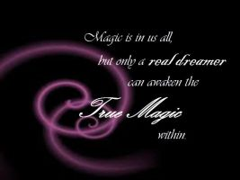 Magic is real by HopeCvon
