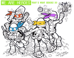 WE ARE HEROES by Captain--Ruffy