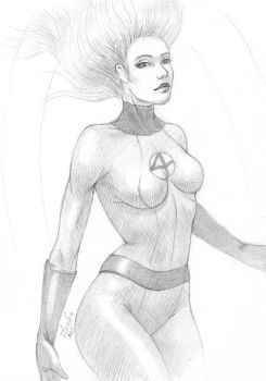 Invisible Woman by AnoleaNova