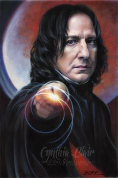 Snape: Defense Against the Dark Arts by Cynthia-Blair