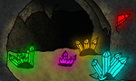 Colored Cave by Shadow-Hyder