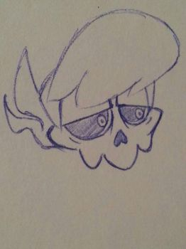 Mystery skulls Lewis expression practice  by MaximumDrifterv2