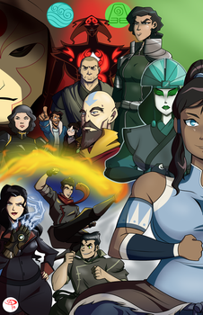 The Legend of Korra by Chillguydraws