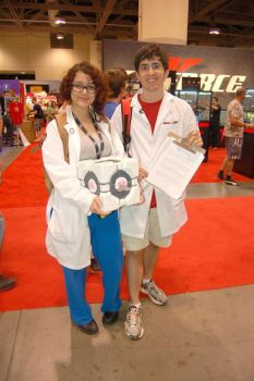 Aperture Science Recruiters by tori-turtle