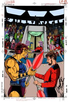 STAR TREK: THE NEXT GENERATION #2? by Jerome-K-Moore