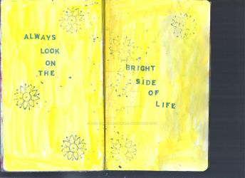 Sketchbook Project Page 30+31 by hannahakaskatergirl
