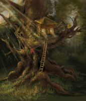 Tree House by raterio