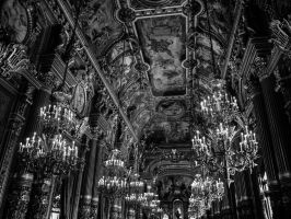 Palais Garnier - Shadows and Song by ArchandSoul