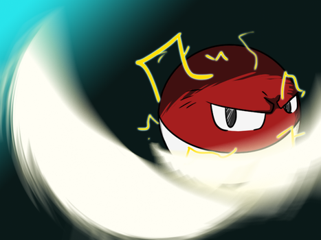 100 - Voltorb by 3nigmatic-3go