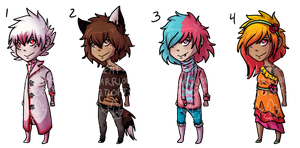 DESSERT ADOPTS- CLOSED by Leaf-Warrior-Adopts