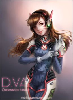 DVA GAME ON!! by monkeyyan