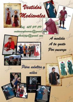 Cartel costura medieval by Dheacays