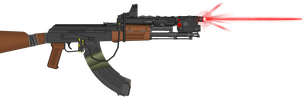 AK-47 Upgraded (Elysium) by NeoMetalSonic360