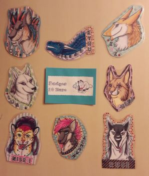 Badges 2018 by Ariade