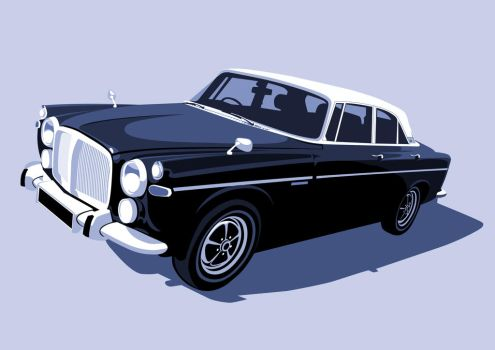Rover P5B Blue by McJade