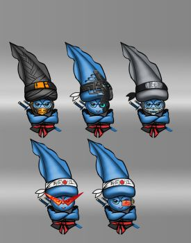 Some skins for the Pan Pan sprite :) by Lazebe