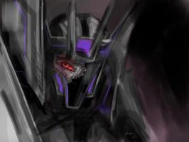 Soundwave Wounded by Kaisunami