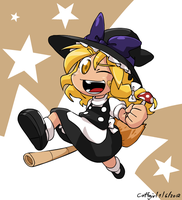 Speed Draw on Marisa by Coffgirl