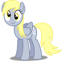 Vector #137 - Derpy Hooves #4 by DashieSparkle