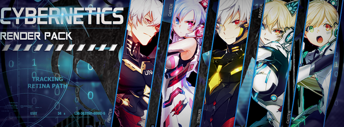 Closers - Cybernetics render pack by RieZero