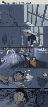 Danny needs some sleep by homed0