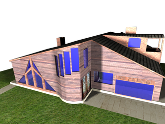 House model 2 by thecoldembrace