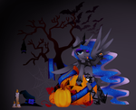 Happy (late) Halloween! by Zmei-Kira
