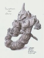 Sampson the Onix