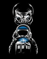 Dr Who Impossible Astronaut v2 by 6amcrisis