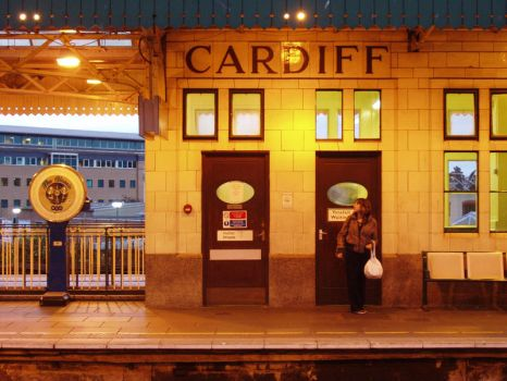 Cardiff Train Station by AirScorp