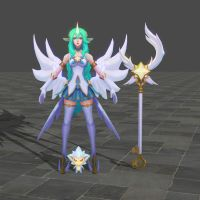 Soraka Star Guardian - League of Legend by TheForgottenSaint47
